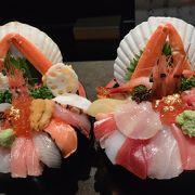 朝から贅沢な海鮮丼を頂きました♪