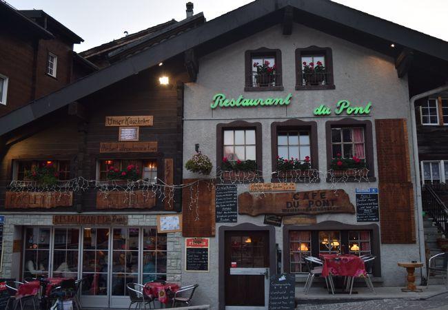 ツェルマットで一番古いレストラン