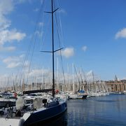 港町マルセイユを代表する風景