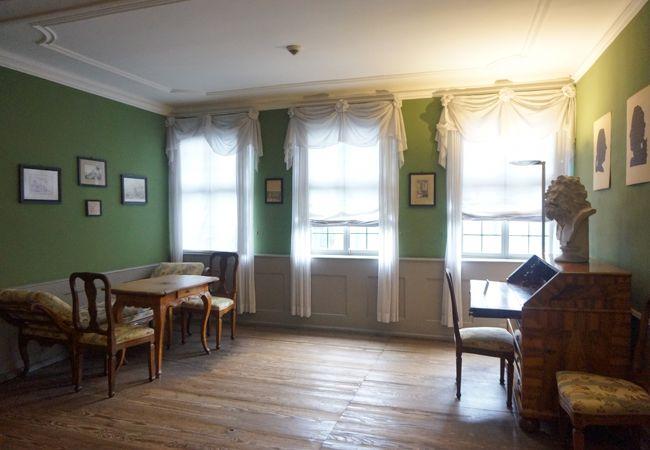 緑の部屋…どれもかわいいです