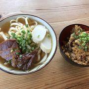 優しい味の沖縄ソバ