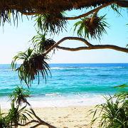広くて穏やかな海