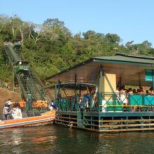 マクコサファリ ボートツアーでイグアスの滝に突入!
