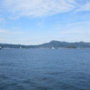呉からは江田島や四国の松山へも船が出ています。