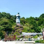 日本最大の天草四郎像がある