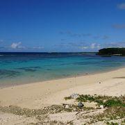 沖永良部島を代表するビーチ