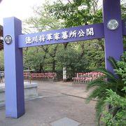 二代将軍徳川秀忠などが葬られています。