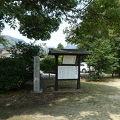 写真:築山跡(大内氏遺跡)