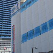 広島駅の南口。