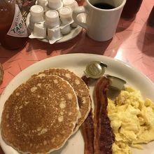 シンプル アメリカン朝食