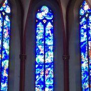 静寂なる青の教会 シャガール