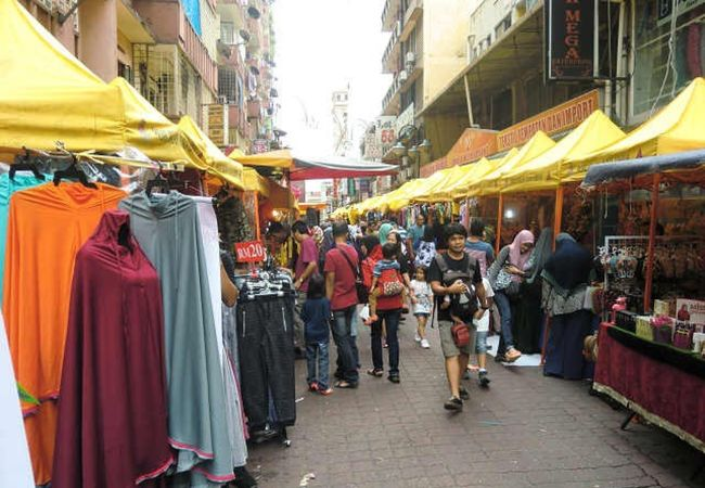 インド系のマーケット