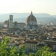 フィレンツェ市内を一望できます