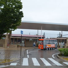 駅舎の眺め