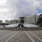 殺風景な広場