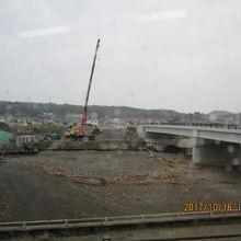 震災復旧はまだまだです。
