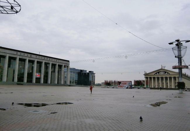 ミンスク観光の起点