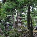 写真:兼六園 三重の宝塔