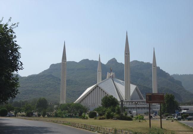 イスラマバードのでっかいモスク