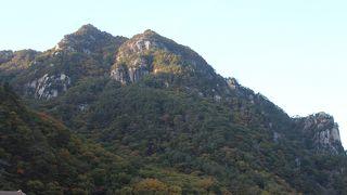 日本一の渓谷美とも言われています