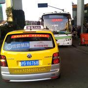 第一ターミナルが空いてる!+南浦大橋を利用する方にタクシー情報