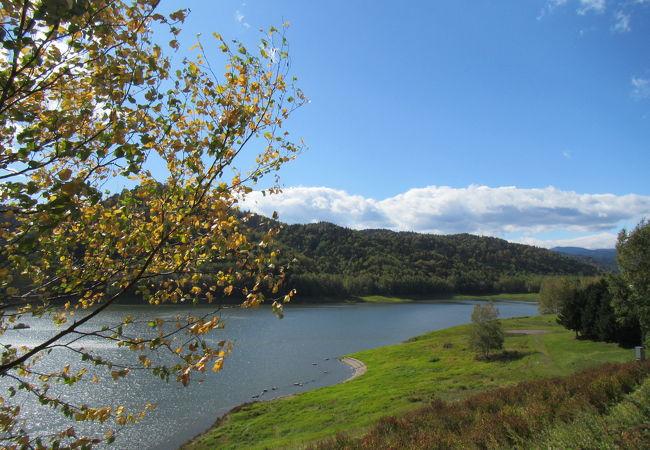 鹿ノ子ダムおけと湖