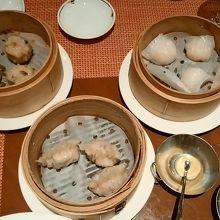 ホテル高層階の雰囲気の良い中華レストラン