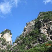 昇仙峡で一番の見どころ