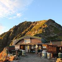 北岳肩の小屋 写真