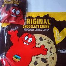 ニュージーランド生まれのクッキーも購入しました!