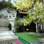 展示が興味深い寺院
