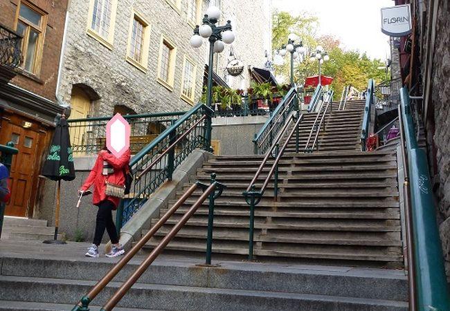 首折り階段