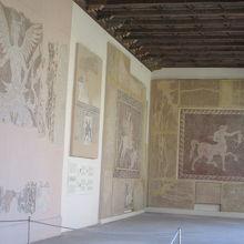考古学博物館のモザイク