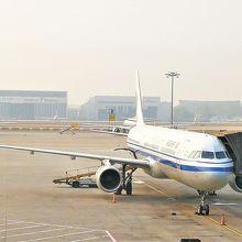 北京発 西安行 A320