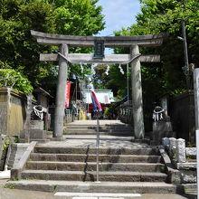 海南神社入口