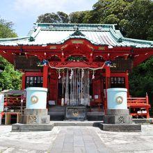 海南神社社殿