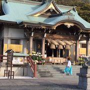 三渓園近くの立派な神社