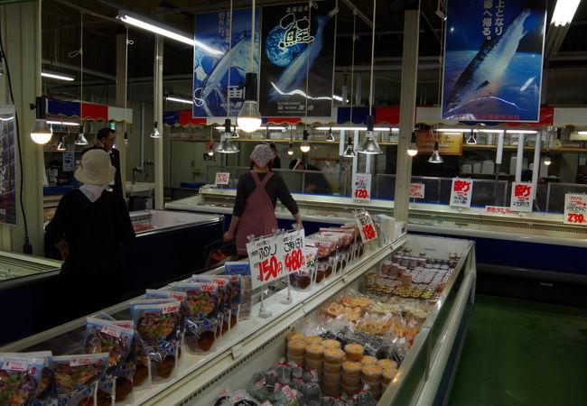 根室海鮮市場カネカイチ鈴木商店