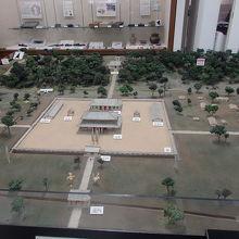 武蔵国分寺伽藍模型