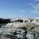 根本海岸・屏風岩