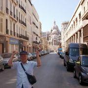 建築様式はマルセイユの中で一番気に入りました。