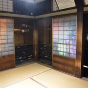 漱石が通った部屋