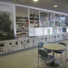 2F展示室内の様子