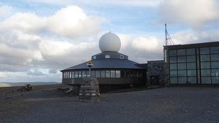 ヨーロッパ大陸最北の岬にあるノールカップホール