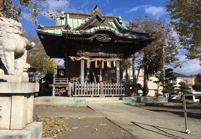 茅ヶ崎 南湖の神社
