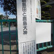 幼稚園と隣接した神社