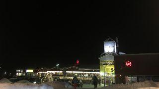 サーリセルカ唯一のスーパーマーケット