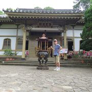 日本風の寺
