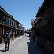 再現された街並みの美 @本町(倉敷)