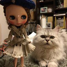 帰宅後にモデルを務めたアンネローゼ様とジェシカ嬢の一枚